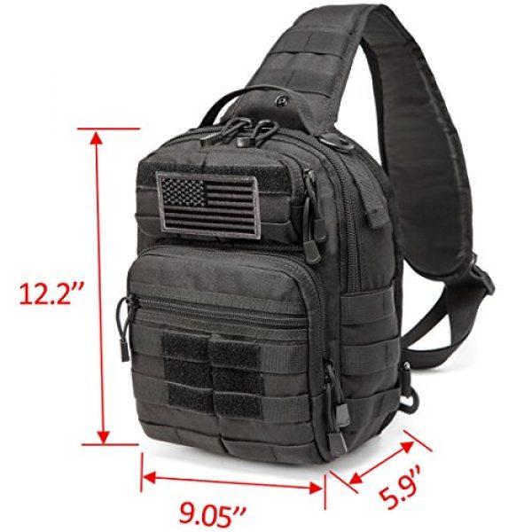 CRAZY ANTS Tactical Backpack 2 Crazy Ants Tactical Sling Bag Rover Molle Pack Shoulder Sling Backpack for Man