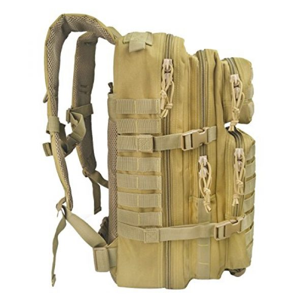 WEDO Tactical Backpack 2 Tactical Backpack for Men, Large Black Military Army Molle Bag Tactical Backpacks