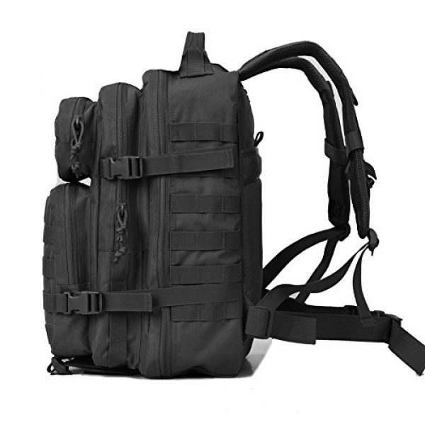 REEBOW GEAR Tactical Backpack 4 Military Tactical Backpack 40L Assault Pack Army Molle Bug Out Bag Backpacks
