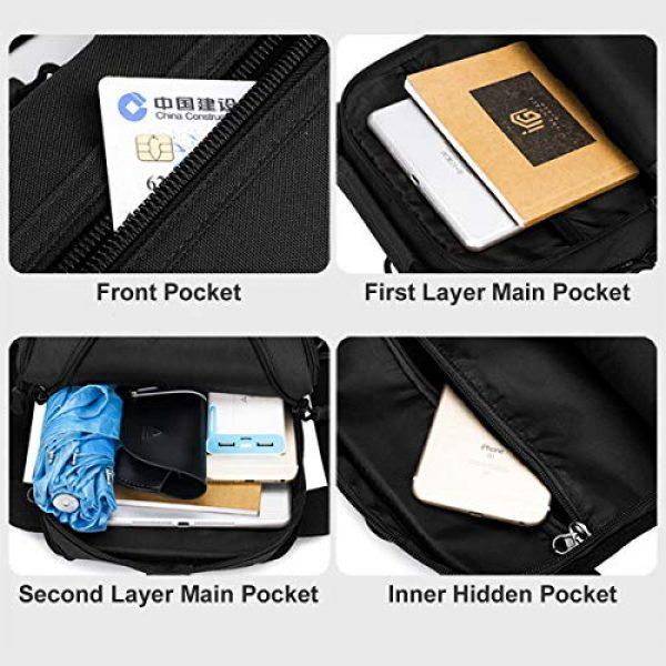 BraveHawk OUTDOORS Tactical Backpack 5 BraveHawk OUTDOORS Sling Shoulder Bag, 800D Military Nylon Multi-Purpose Daypack EDC Crossbody Pack Backpack Handbag