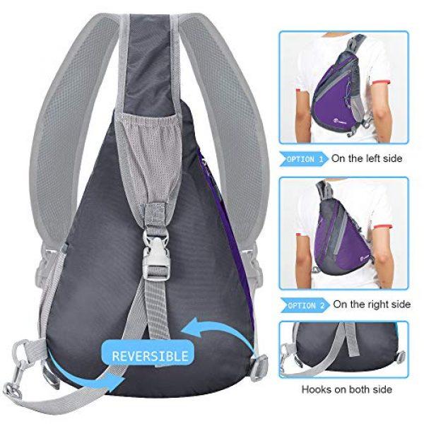 ZOMAKE Tactical Backpack 5 Sling Bag Backpack, Water Resistant Shoulder Backpack Crossbody Bags Daypack