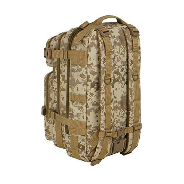 East West U.S.A Tactical Backpack 4 East West U.S.A RTC502 Tactical Molle Military Assault Rucksacks Backpack