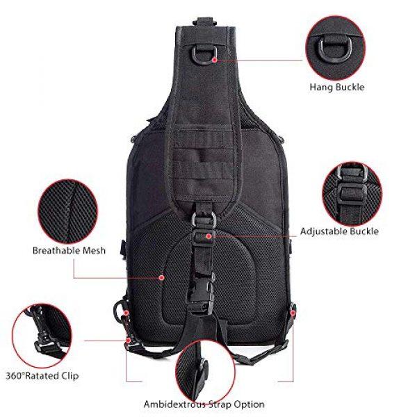 HAOMUK Tactical Backpack 3 Tactical Sling Bag Pack Military Rover Shoulder Sling Backpack EDC Molle Assault Range Bag