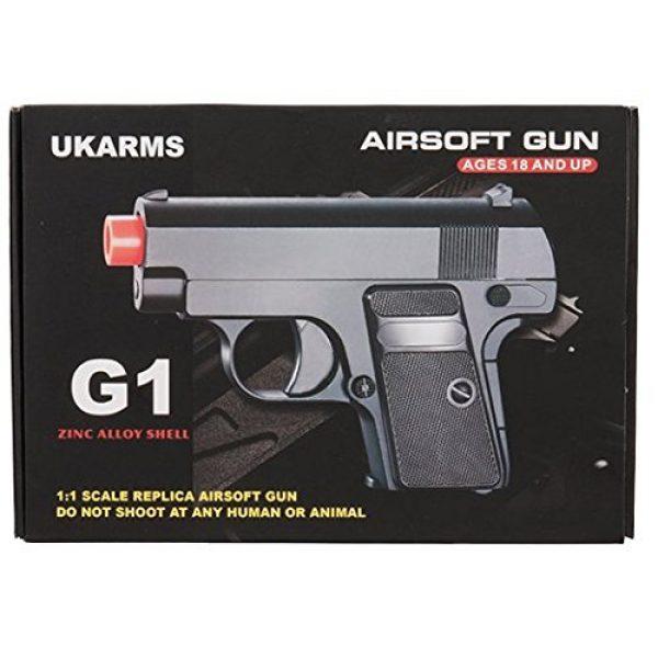 UKARMS Airsoft Pistol 6 UKARMS G1 Metal Spring Action Pistol Airsoft BB Gun