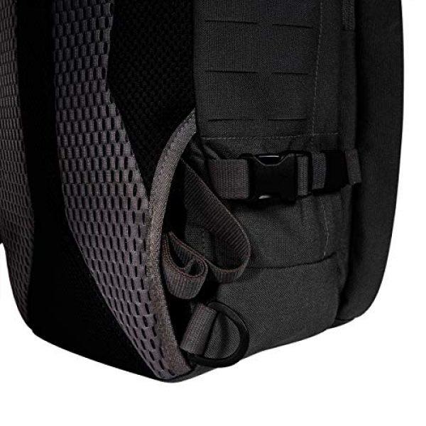 Tasmanian Tiger Tactical Backpack 7 Tasmanian Tiger TAC Sling Pack 12, Tactical Sling Bag with MOLLE, YKK Zippers, Hydration Compatible