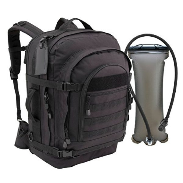 Mercury Tactical Gear Tactical Backpack 2 Mercury Tactical Gear Blaze Bugout Bag with Hydration Pack