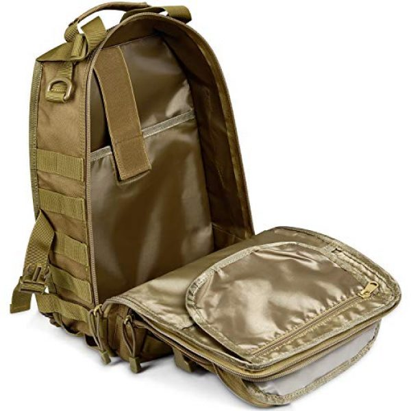G4Free Tactical Backpack 6 G4Free Tactical Sling Backpack Big Molle EDC Assault Range Bag Pack Military Style for Concealed Carry