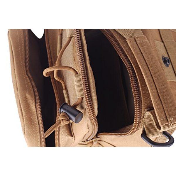CISNO Tactical Backpack 3 CISNO Outdoor Rucksack Tactical Molle Messenger Assault Sling Shoulder Bag Backpack Pack