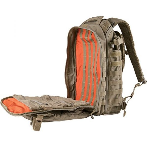 5.11 Tactical Backpack 4 5.11 Tactical All Hazards Prime Backpack, 29 Liters Capacity, Laptop Compartment, Style 56997, Sandstone