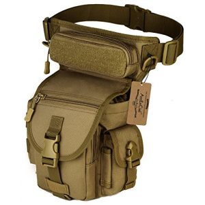 ArcEnCiel Tactical Backpack 1 ArcEnCiel Leg Bag Tactical Military Drop Waist Thigh Hip Fanny Pack Tool Gear Pouch