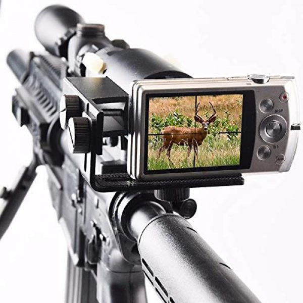 MUJING Rifle Scope 6 MUJING Rifle Scope Adapter Smartphone Mounting System- Smart Shoot Scope Mount Adapter - Display and Record The Discovery