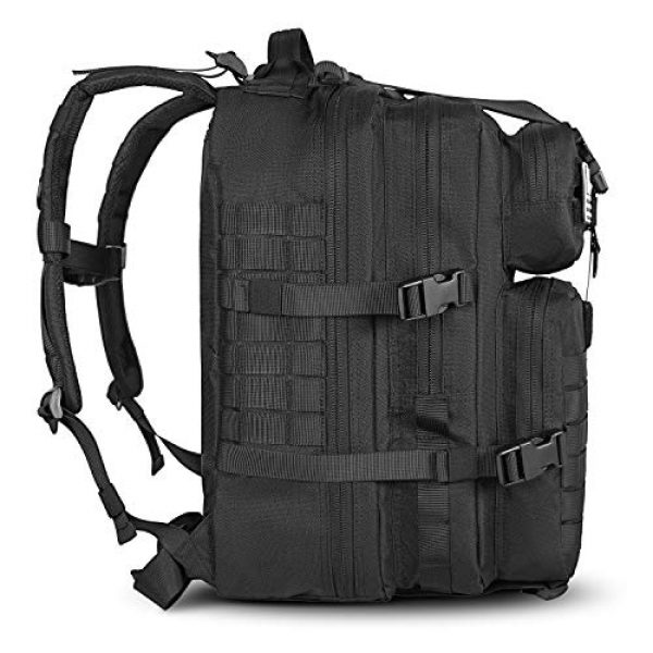 LeisonTac Tactical Backpack 2 LeisonTac 42L Tactical Backpack Military ISO Standard with Hydration Bladder Compartment