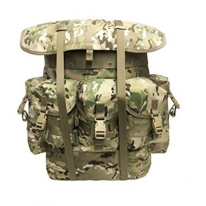 MT Tactical Backpack 1 Military Rucksack Alice Pack Army Survival Combat Field Backpack with Frame Olive Drab