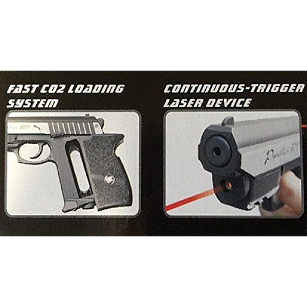 WinGun Airsoft Pistol 3 cbb-4801 WinGun full metal semi auto co2 blowback pistol with free safty shooting glasses and free target trip tent(Airsoft Gun)