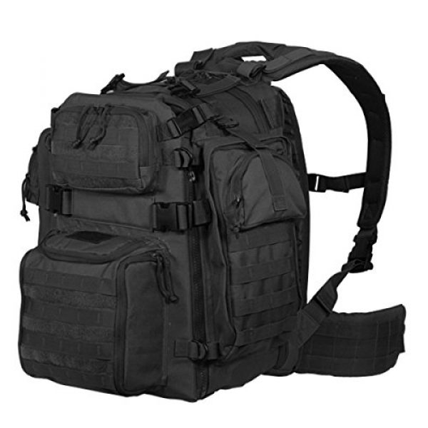 VooDoo Tactical Tactical Backpack 1 VOODOO TACTICAL 15-0029 Praetorian Rifle Pack, Holds Your Gun and Gear