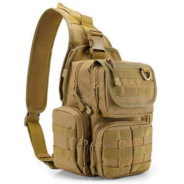 G4Free Tactical Backpack 1 G4Free Tactical EDC Sling Bag Pack with Pistol Holster Sling Shoulder Assault Range Backpack Handgun Gag for Concealed Carry