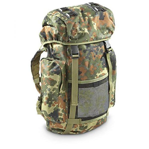 Mil-Tec Tactical Backpack 1 Mil-Tec Rucksack 35L Flecktar Camo Backpack