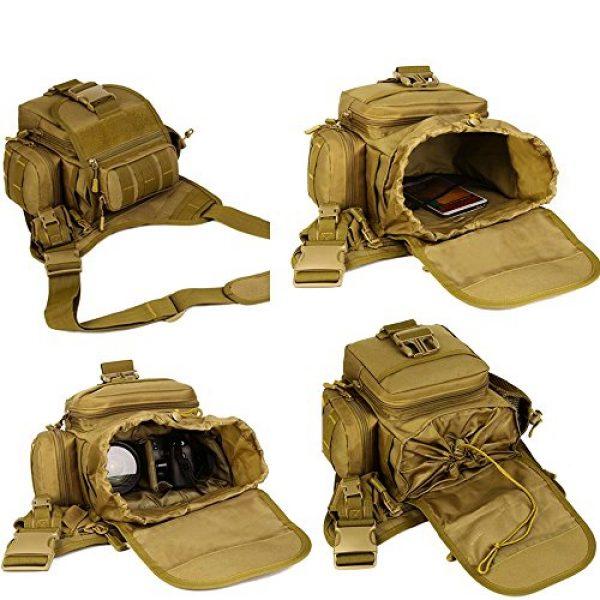 DYJ Tactical Backpack 6 DYJ Multi-Functional Tactical Camera Messenger Bag Fishing Tackle Bag Military Shoulder Bag Backpack EDC Sling Pack for Hiking Camping Trekking Cycling