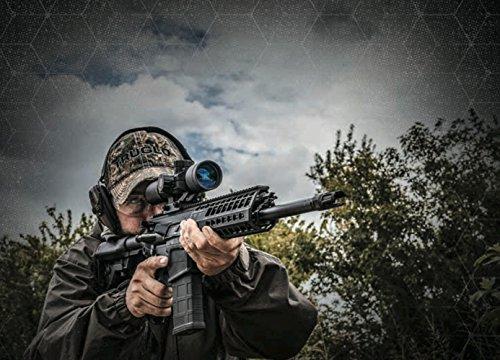 TRUGLO Rifle Scope 3 TRUGLO TRU-BRITE 30 Series Illuminated Tactical Rifle Scope - Includes Scope Mount, 3-9 x 42mm