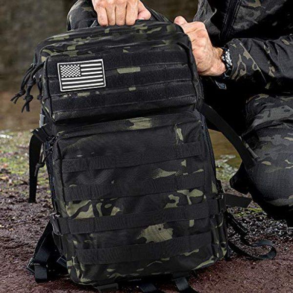 Monoki Tactical Backpack 5 Monoki Military Tactical Backpack, Army 3 Day Assault Pack,42L Molle Bag Rucksack