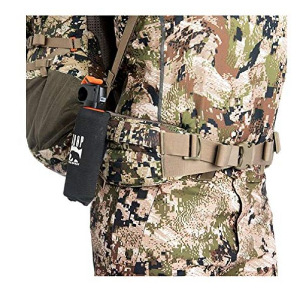 SITKA Gear Tactical Backpack 3 Sitka Mountain Hauler 4000 Framed Expandable Hunting Pack