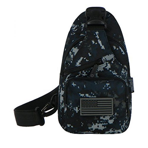 East West U.S.A Tactical Backpack 1 East West U.S.A RTC528 Tactical Camouflage Military Sling Chest Utility Pack Bag