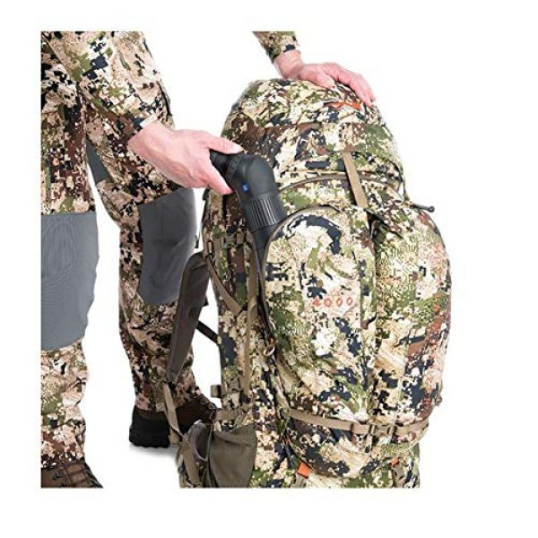 SITKA Gear Tactical Backpack 6 Sitka Mountain Hauler 4000 Framed Expandable Hunting Pack