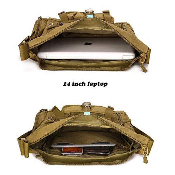 ArcEnCiel Tactical Backpack 5 ArcEnCiel Tactical Messenger Bag Men Military MOLLE Sling Shoulder Pack with Patch