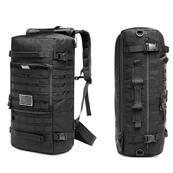 CRAZY ANTS Tactical Backpack 5 CRAZY ANTS Military Tactical Backpack Hiking Camping Shoulder Bag Upgraded Version