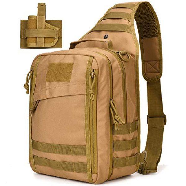 BOW-TAC Tactical Backpack 1 Tactical Sling Bag Pack Small Military Sling Backpack Assault Range Bag