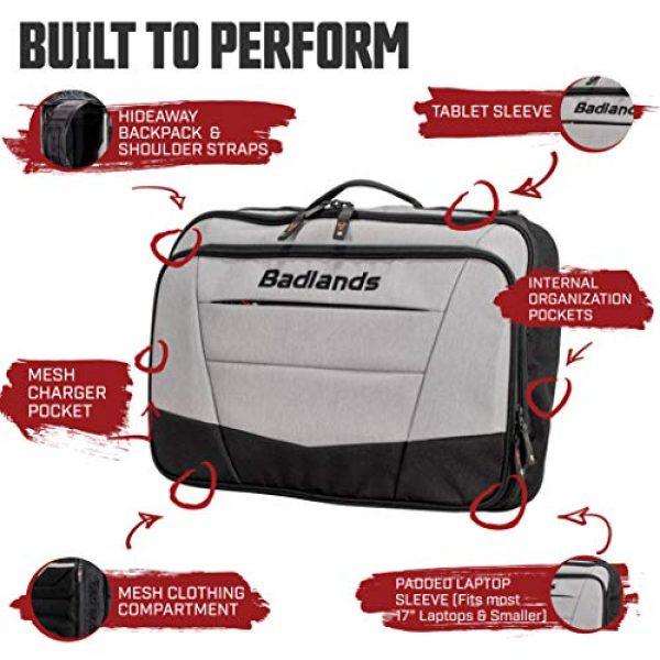 Badlands Tactical Backpack 3 Badlands Commander Laptop Pack - Padded Laptop Backpack