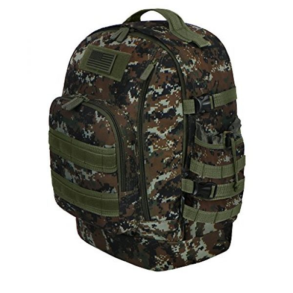 East West U.S.A Tactical Backpack 2 East West U.S.A RTC524 Tactical Multi-Use Molle Assault Military Rucksacks Backpack