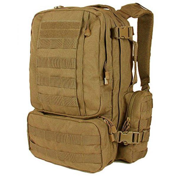 Condor Tactical Backpack 1 Condor Convoy Outdoor Pack Coyote Brown