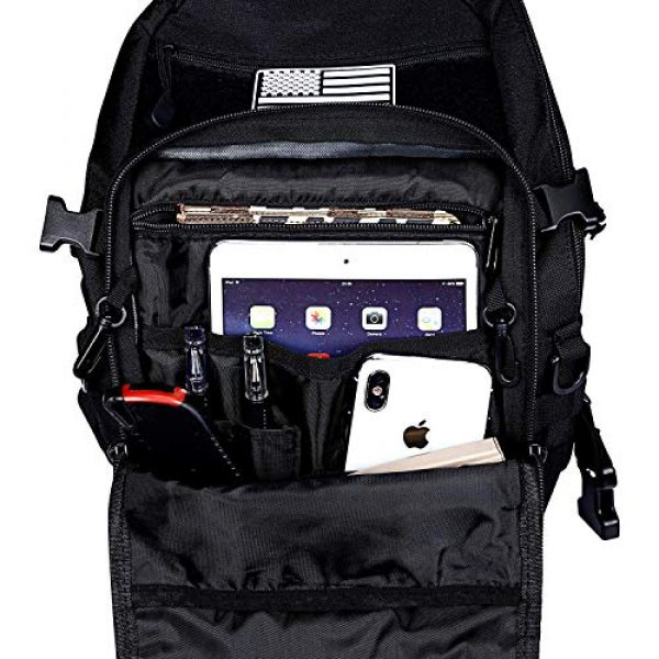 G4Free Tactical Backpack 6 G4Free Tactical Sling Backpack for Every Day Carry