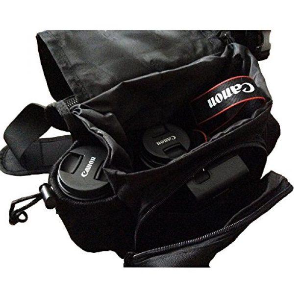 DYJ Tactical Backpack 5 DYJ Multi-Functional Tactical Camera Messenger Bag Fishing Tackle Bag Military Shoulder Bag Backpack EDC Sling Pack for Hiking Camping Trekking Cycling