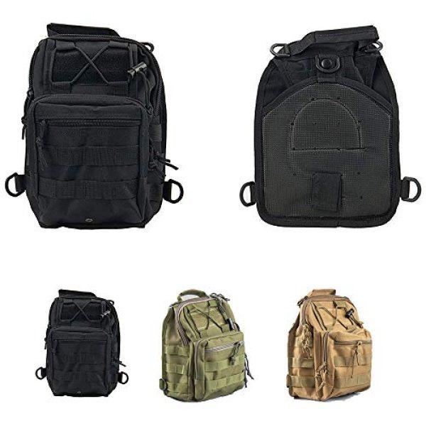 HAOMUK Tactical Backpack 6 HAOMUK Outdoor Tactical Backpack,Military Sport Bag Pack Shoulder Backpack