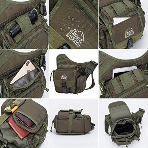 Aveler Tactical Backpack 4 Aveler Nylon Multifunction Sling Bag Tactical MOLLE Military Crossbody Backpack