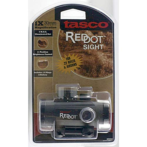 Nimrod's Wares Rifle Scope 2 Nimrod's Wares Tasco ProPoint Ruger 10/22 Red Dot Sight 1x30mm 5 MOA Bundle with Microfiber Cloth