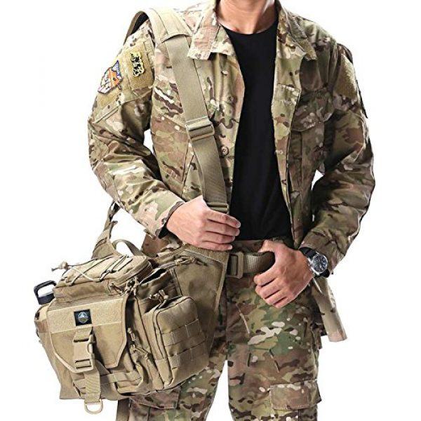 SHANGRI-LA Tactical Backpack 2 SHANGRI-LA Multi-functional Tactical Messenger Bag Camera Molle Assault Gear Sling Pack