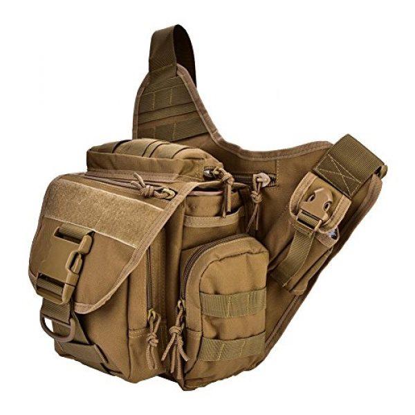 Vbestlife Tactical Backpack 1 2Colors Durable Men Military Chest Shoulder Bag Pack Military Sling Bag Chest