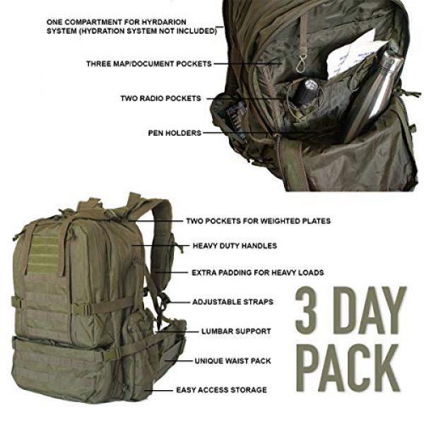 """Explorer Tactical Backpack 5 Explorer 22"""" Waist Gun PouchesTactical Backpack"""