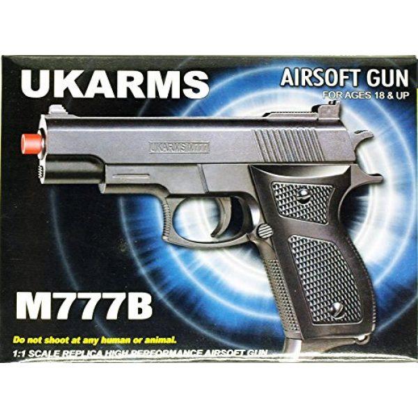 UKARMS Airsoft Pistol 4 m777b spring airsoft hand gun(Airsoft Gun)