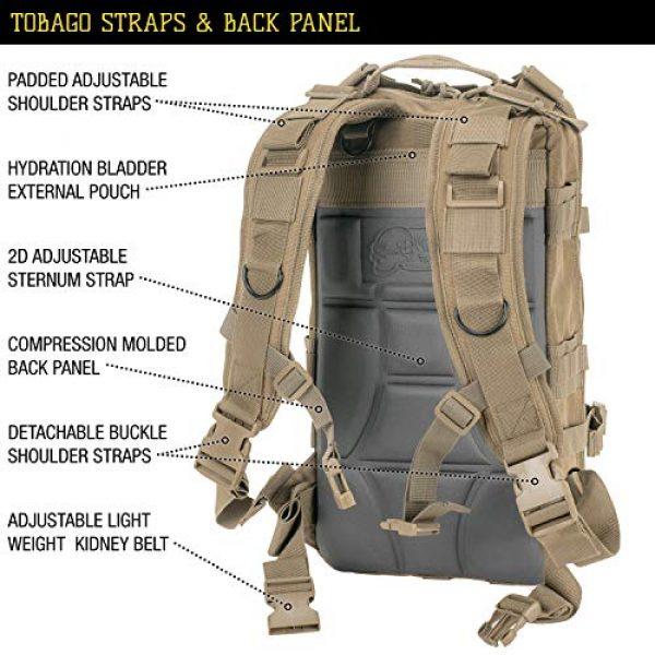 VooDoo Tactical Tactical Backpack 7 VooDoo Tactical Level III MOLLE Compatible Assault Pack