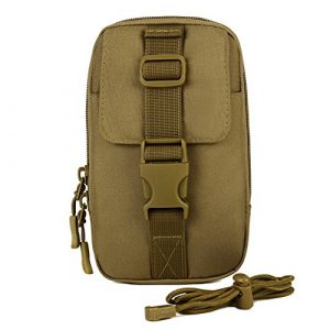 CREATOR  1 CREATOR MOLLE Pouches Attached Tactical Utility Pouches Small Multipurpose Tactical Belt EDC Gadget Gear Belt Outdoor Military Waist Bags