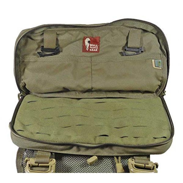 Hill People Gear Tactical Backpack 3 Hill People Gear Heavy Recon Kit Bag (Ranger Green)
