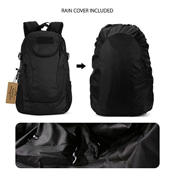 ArcEnCiel Tactical Backpack 6 ArcEnCiel Motorcycle Backpack Tactical Military Bag Army Assault Pack - Rain Cover Included