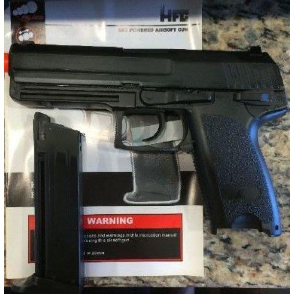 HFC Airsoft Pistol 2 HFC hga-166 gas blowback metal silde airsoft pistol semi/full auto(Airsoft Gun)