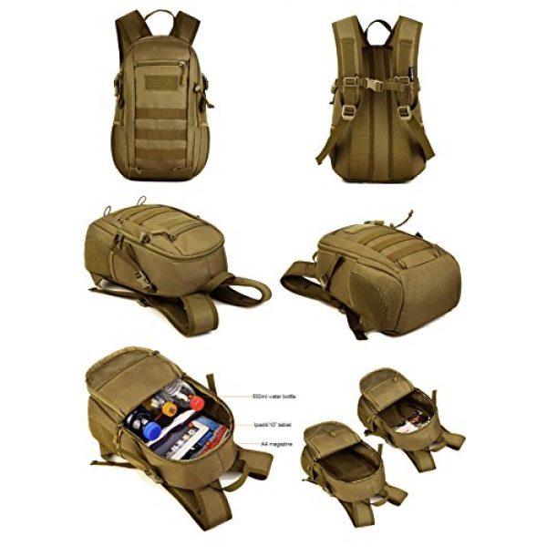 Huntvp Tactical Backpack 4 Huntvp 10L Mini Daypack Military MOLLE Backpack Rucksack Gear Tactical Assault Pack Bag for Hunting Camping Trekking Travel