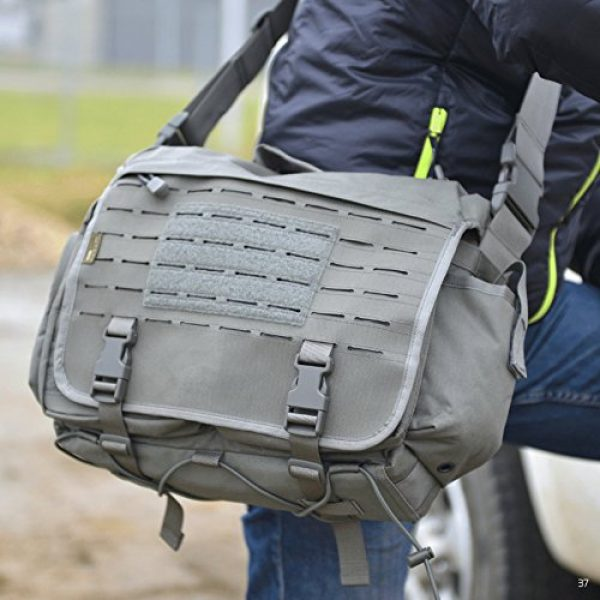 Direct Action Tactical Backpack 7 Direct Action Messenger Tactical Bag 10 Liter Capacity, Ideal for Laptop, ipad or Tablet