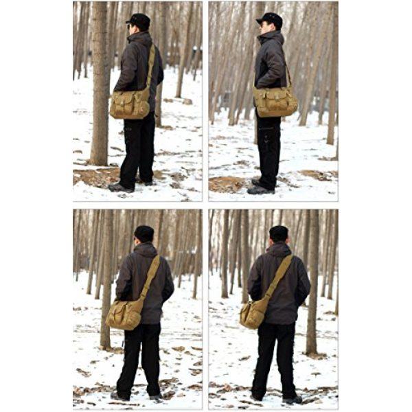 ArcEnCiel Tactical Backpack 7 ArcEnCiel Tactical Messenger Bag Men Military MOLLE Sling Shoulder Pack with Patch
